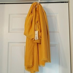 A New Day Oblong Gold scarf